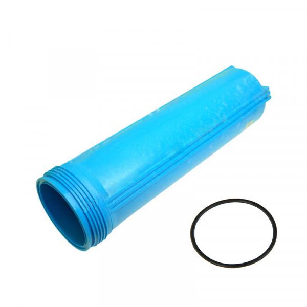 """Колба картриджа фильтра Джилекс 1 М 20"""" Blue + уплотнительное кольцо"""